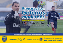 Emídio Júnior no Brasil para dar formação sobre treino de guarda-redes