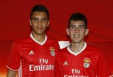João Monteiro assina contrato com o SL Benfica aos dezasseis anos