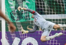 Victor Bagy defende 11º penalti desde chegada ao Atlético Mineiro em 2012