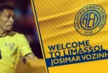Vozinha assina pelo AEL Limassol