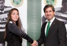 Carolina Vilão: titular no CF Os Belenenses aos quinze anos, transferida para o Sporting CP aos dezasseis