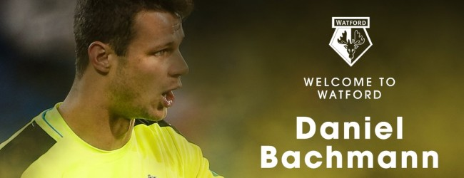 Daniel Bachmann assina pelo Watford FC