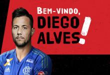 Diego Alves assina pelo CR Flamengo