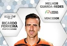 Ricardo Ferreira vence prémio Melhor Guarda-Redes da Segunda Liga 2016/2017