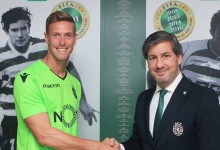 Romain Salin assina pelo Sporting CP