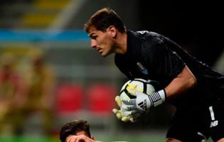 Iker Casillas ainda não sofreu à quarta jornada da Primeira Liga 2017/2018