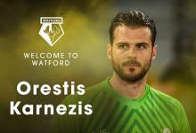 Orestis Karnezis emprestado ao Watford FC
