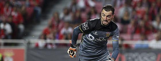 Mário Felgueiras é o Guarda-Redes da sétima jornada da Primeira Liga 2017/2018