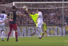 Antonio Mirante rouba golo a Miguel Veloso em defesa espetacular – Genoa FC 0-1 Bologna FC