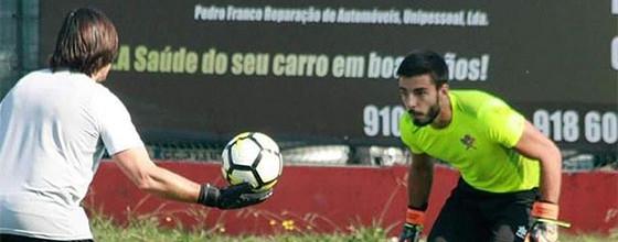 """André Ferreira: """"Não gosto de estar dentro da baliza"""""""