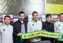 José Serrão é o novo treinador de guarda-redes do FC Paços de Ferreira