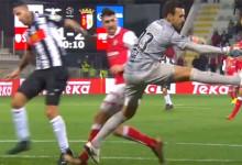 Ricardo Ferreira impede terceiro golo em defesa pouco ortodoxa – Portimonense SC 1-2 SC Braga