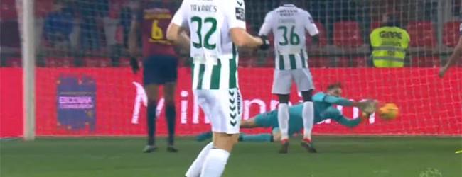 António Filipe destaca-se em três defesas antes de empate fatídico – GD Chaves 2-2 Vitória FC