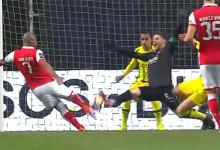 Cláudio Ramos atira o corpo para duas duplas-defesas espetaculares – SC Braga 1-0 CD Tondela