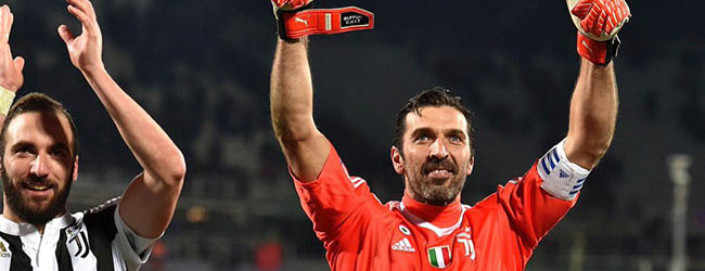 Gianluigi Buffon festejou 500 jogos na Serie A