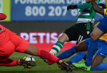 Renan Ribeiro é o guarda-redes da 21ª jornada da Primeira Liga 2017/2018
