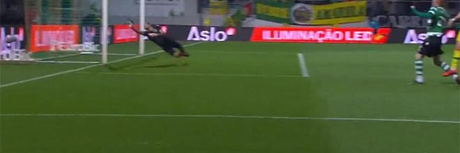 Rui Patrício evitou segundo golo adversário – CD Tondela 1-2 Sporting CP