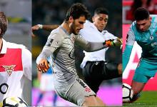 Adriano Facchini, André Moreira e Matheus Magalhães: três guarda-redes sem sofrer há três jogos