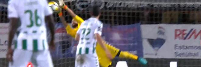 Cristiano Figueiredo vale ponto por três vezes no final do jogo – Vitória FC 1-1 Portimonense SC