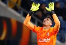 Matheus Magalhães não sofre golos pelo SC Braga há cinco jogos consecutivos