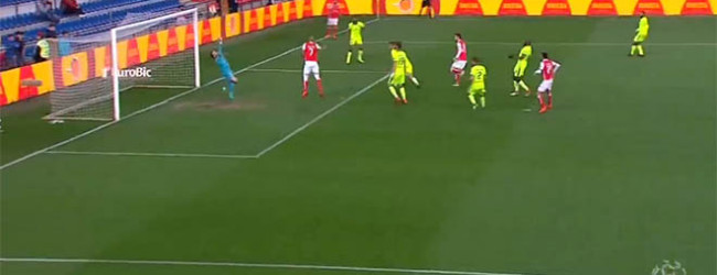 Ricardo Nunes evitou dois golos – GD Chaves 1-4 SC Braga