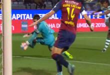 Ricardo Nunes protagonista em duas defesas – GD Chaves 1-2 Sporting CP