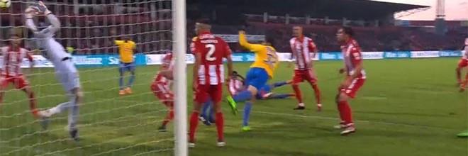 Adriano Facchini fecha a baliza e dá espetáculo em dupla-defesa – CD Aves 1-0 Estoril