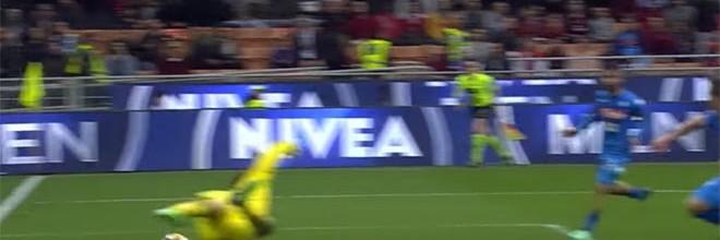 Gianluigi Donnarumma e Pepe Reina num espetáculo de defesas – AC Milan 0-0 Napoli