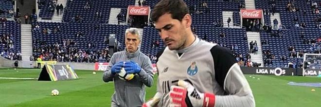 José Sá, Iker Casillas e Diamantino Figueiredo campeões pelo FC Porto com dezanove balizas virgens