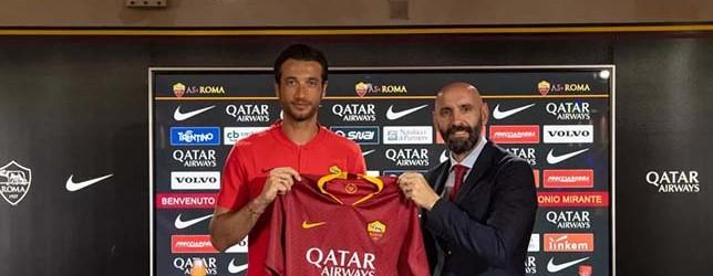 Antonio Mirante assina pela AS Roma