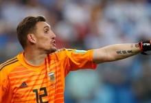 Franco Armani estreia-se pela Argentina, defende em momento decisivo e garante passagem no Mundial'2018