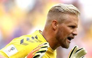 Kasper Schmeichel v. Mathew Ryan – Dinamarca 1-1 Austrália – Estatísticas