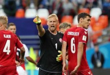 Kasper Schmeichel v. Pedro Gallese – Dinamarca 1-0 Peru – Estatísticas