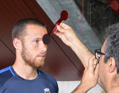 Guarda-Redes do Rio Ave FC tiveram testes de avaliação de visão Desportiva
