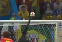Thibaut Courtois vale passagem da Bélgica às meias-finais do Mundial'2018 em várias defesas