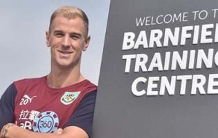 Joe Hart assina pelo Burnley FC