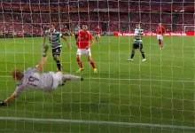 Romain Salin brilhou com duas defesas de qualidade entre nove executadas – SL Benfica 1-1 Sporting CP