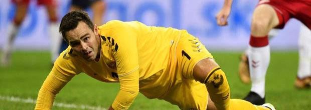 Christoffer Haagh: guarda-redes de Futsal debutou e destacou-se na seleção de Futebol da Dinamarca