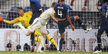 Alphonse Areola estreia-se pela França e fecha a baliza contra a Alemanha (0-0), com defesas espetaculares