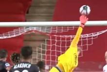 Diego Benaglio e Paul Bernardoni aparecem em várias defesas espetaculares – AS Monaco 1-1 Nimes