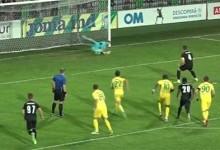 Mickaël Meira estreia-se a defender grande penalidade pelo FC Zimbru