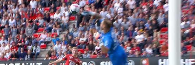 Baptiste Reynet voa em defesas espetaculares e vistosas – Rennes 1-1 Toulouse FC