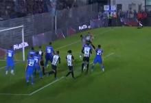 Fabiano Freitas começa jogo a intercetar canto e possível golo – SC Vila Real 0-6 FC Porto