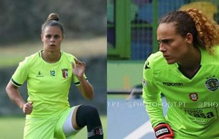 Rute Costa e Bárbara Marques sem sofrer há sete jogos, Patrícia Morais e Inês Pereira há quatro por SC Braga e Sporting CP