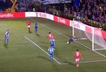 Tiago Guedes faz defesa espetacular entre outras intervenções vistosas – CDC Montalegre 0-1 SL Benfica