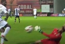 Daniel Guimarães fecha a baliza ao defender com a cara – CD Nacional 1-0 Vitória SC