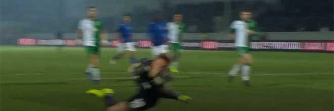 Romain Salin faz defesa espetacular entre outras vistosas – CD Feirense 0-2 Sporting CP