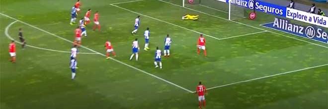 Vaná Alves coloca-se em quatro intervenções – SL Benfica 1-3 FC Porto