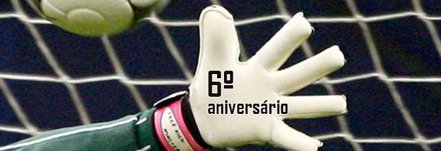O Mundo dos Guarda-Redes festeja sexto aniversário