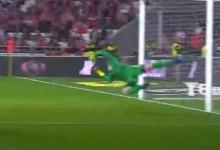 António Filipe destaca-se em três defesas de nível entre precipitação – SL Benfica 4-0 GD Chaves